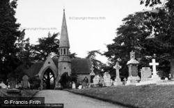 Pershore, The Cemetery 1955
