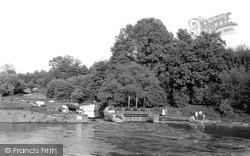 Pershore, The Lock c.1960