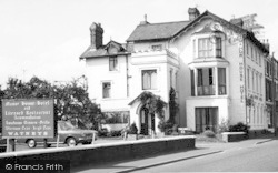 The Manor House Hotel c.1965, Pershore