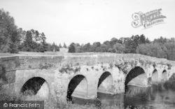 Pershore, The Old Bridge c.1950