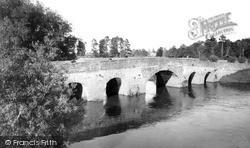 Pershore, The Old Bridge c.1955