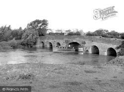 Pershore, The Old Bridge c.1960