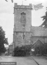 Pershore, The Parish Church 1931