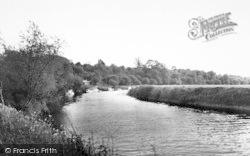 Pershore, The River Avon c.1965