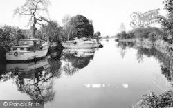 Pershore, The River c.1965