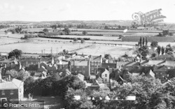 Pershore, View From The Abbey Tower c.1960