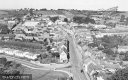 View Of Newlands From The Abbey Tower c.1960, Pershore