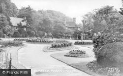 Peterborough, Bishop's Road Gardens c.1955