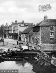 Broad Bridge Street c.1920, Peterborough
