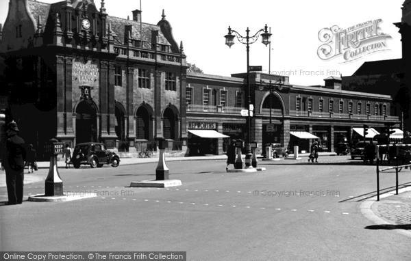 Photo of Peterborough, c.1955