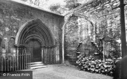 Cathedral, Bishop's Door (South Cloister) c.1930, Peterborough