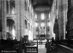 Peterborough, Cathedral, Choir East 1894