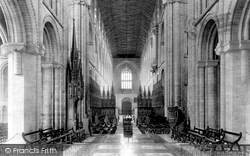 Peterborough, Cathedral, Choir West 1894