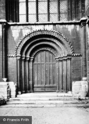 Cathedral, East Cloister Door c.1930, Peterborough