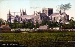 Peterborough, Cathedral From South c.1895