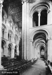 Cathedral, Interior c.1930, Peterborough