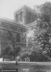 Peterborough, Cathedral, North East 1904
