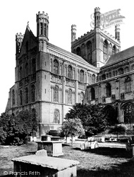 Peterborough, Cathedral, The North Transept c.1874