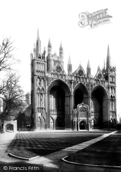 Peterborough, Cathedral West Front 1890