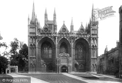 Peterborough, Cathedral, West Front 1904