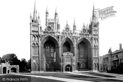 Peterborough, Cathedral, West Front 1919
