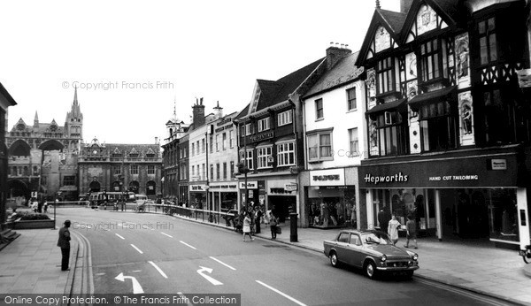 Peterborough, Church Street and Square c1965