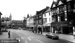 Peterborough, Church Street And Square c.1965