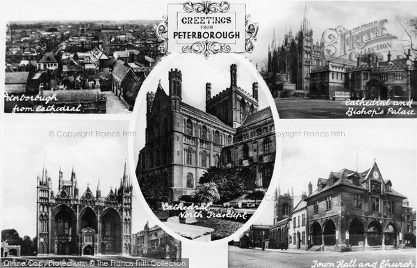 Photo of Peterborough, Composite c.1900