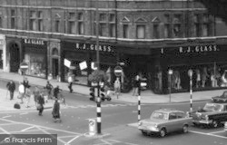 Peterborough, Exchange Street And Long Causeway 1967