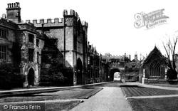 Grammar School 1890, Peterborough