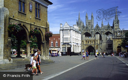 Guildhall And Cathedral Square 1998, Peterborough