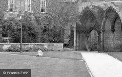 Laurel Court, Sitting On The Grass 1919, Peterborough