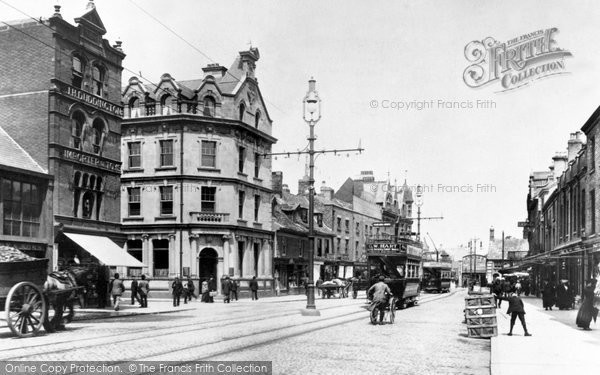 Peterborough, Long Causeway 1904