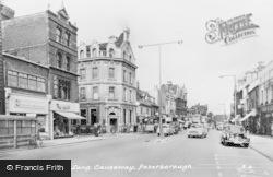 Peterborough, Long Causeway c.1955
