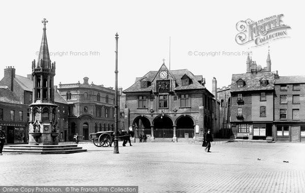 Photo of Peterborough, Market Square 1904