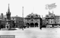 Peterborough, Market Square 1904