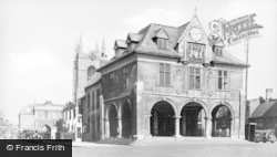 Peterborough, Old Guildhall c.1935