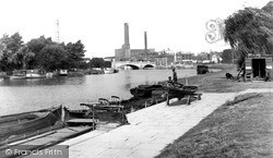 Peterborough, River Nene 1952