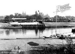 River Nene c.1955, Peterborough