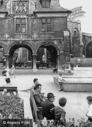 Sitting Near The Guldhall c.1965, Peterborough