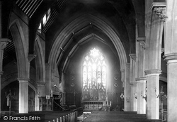 Peterborough, St Mark's Church Interior 1890