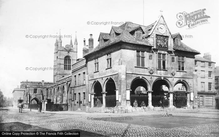 Peterborough, The Butter Cross 1890