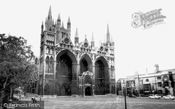 Peterborough, The Cathedral 1967