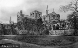 The Cathedral From The South East 1890, Peterborough