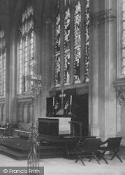 Peterborough, The Cathedral, Lady Chapel Altar 1894