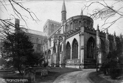 Peterborough, The Cathedral, South East 1890