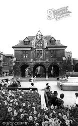 Peterborough, The Guildhall c.1965