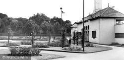 The Swimming Pool c.1955, Peterborough