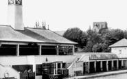 Peterborough, the Swimming Pool c1955