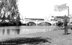 The Town Bridge c.1950, Peterborough